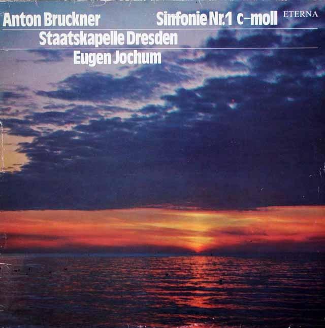 ヨッフムのブルックナー/交響曲第1番   独ETERNA 2946 LP レコード