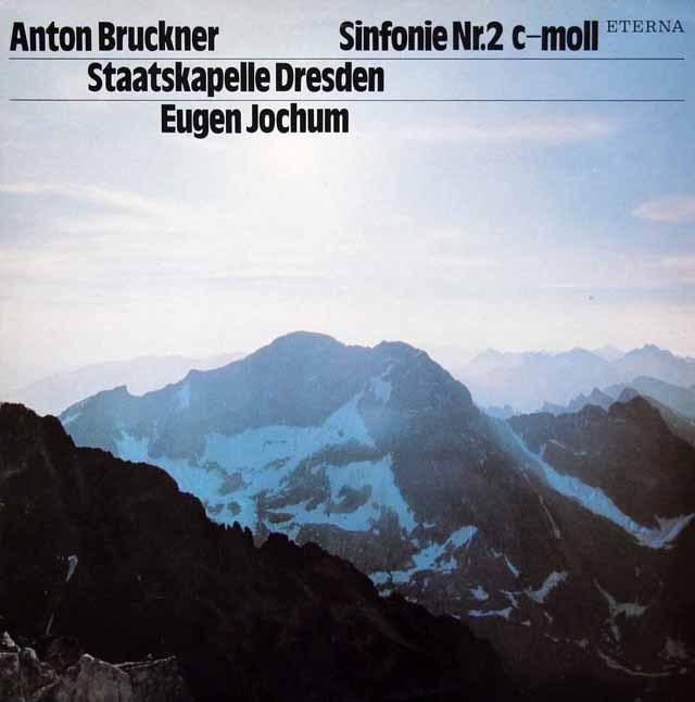 ヨッフムのブルックナー/交響曲第2番   独ETERNA 2946 LP レコード