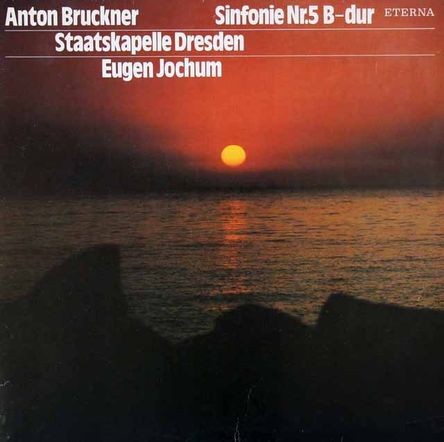 ヨッフムのブルックナー/交響曲第5番 独ETERNA 3395 LP レコード