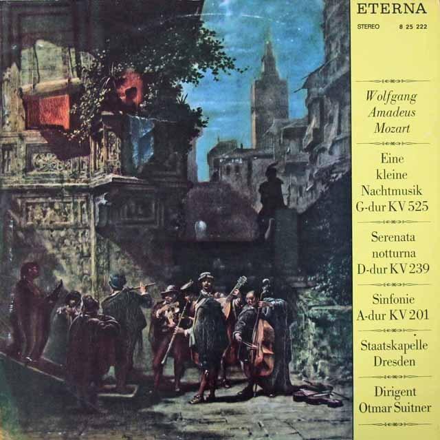 スウィトナーのモーツァルト/「アイネ・クライネ・ナハトムジーク」ほか   独ETERNA 2946 LP レコード