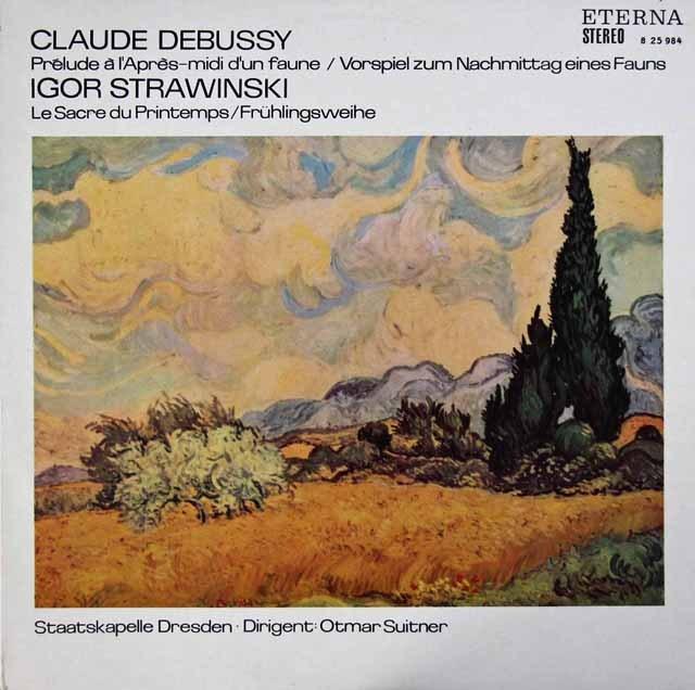 スウィトナーのストラヴィンスキー/「春の祭典」ほか   独ETERNA 2946 LP レコード