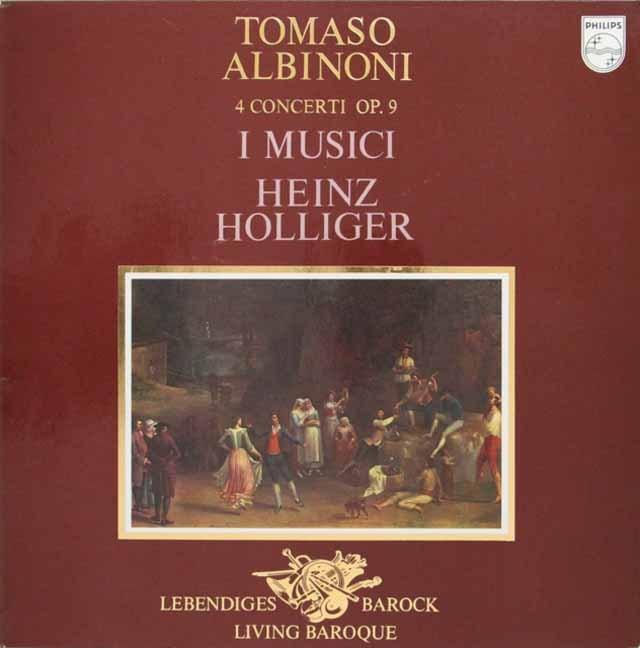 ホリガー&イ・ムジチのアルビノーニ/オーボエ協奏曲集  蘭PHILIPS 2946 LP レコード