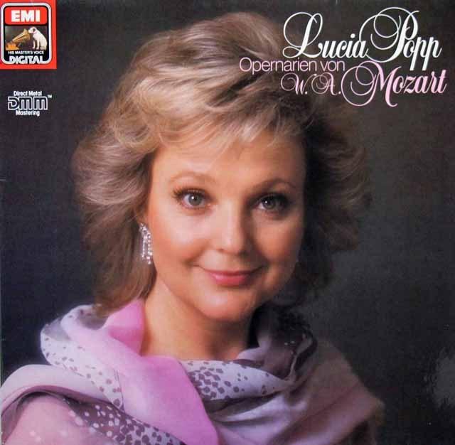 ポップのモーツァルト/オペラ・アリア集   独EMI 2946 LP レコード