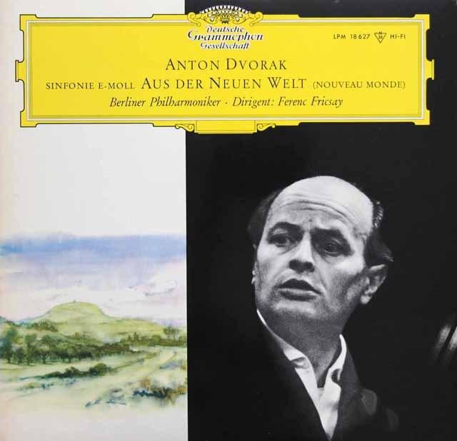 【モノラル】 フリッチャイのドヴォルザーク/交響曲第9番「新世界より」 独DGG 3395 LP レコード
