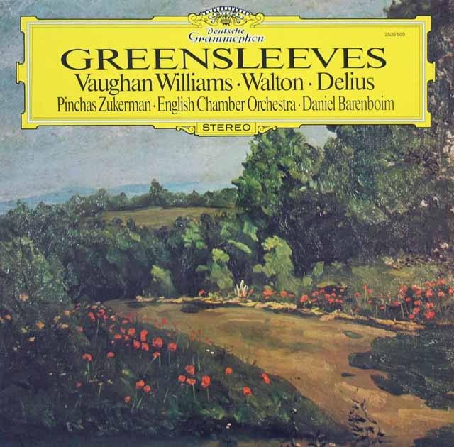 バレンボイムのイギリス管弦楽曲集   独DGG 3395 LP レコード