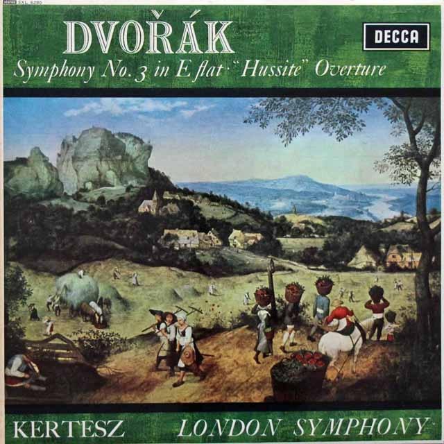 ケルテスのドヴォルザーク/交響曲第3番ほか 英DECCA 3395 LP レコード