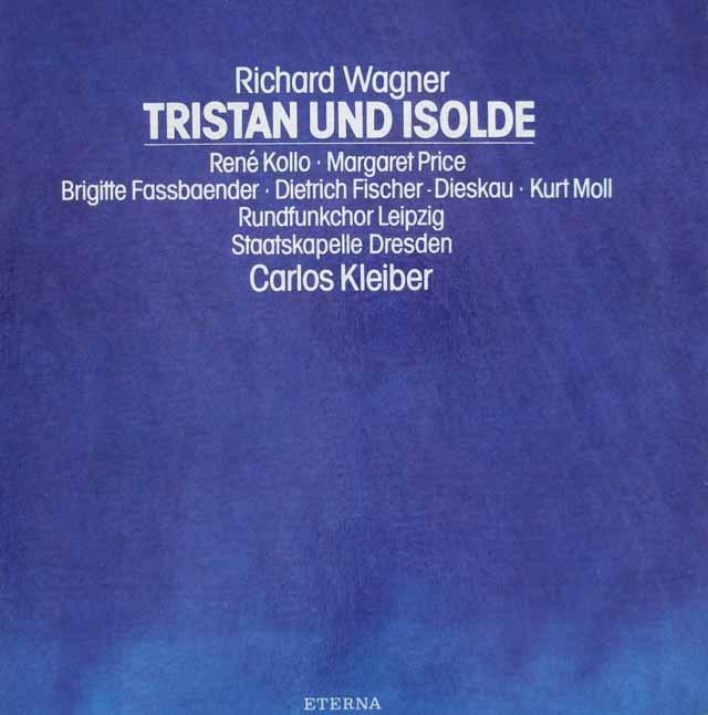 クライバーのワーグナー/「トリスタンとイゾルデ」全曲  独ETERNA 2946 LP レコード