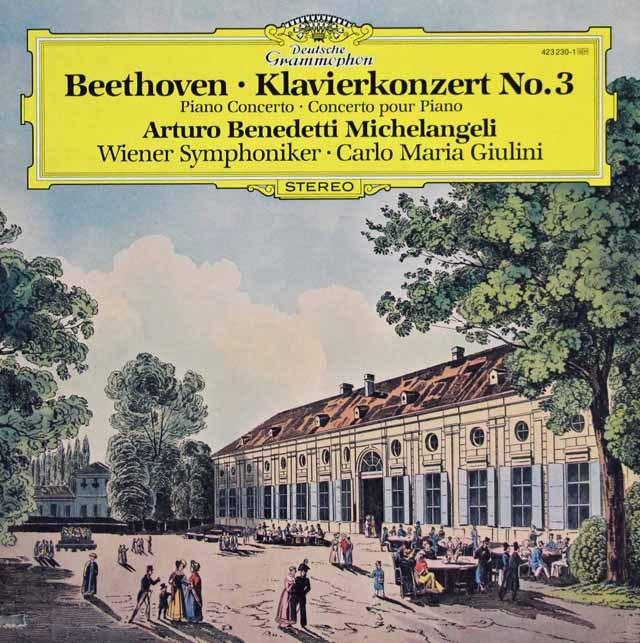 ミケランジェリ&ジュリーニのベートーヴェン/ピアノ協奏曲第3番    独DGG 2947 LP レコード
