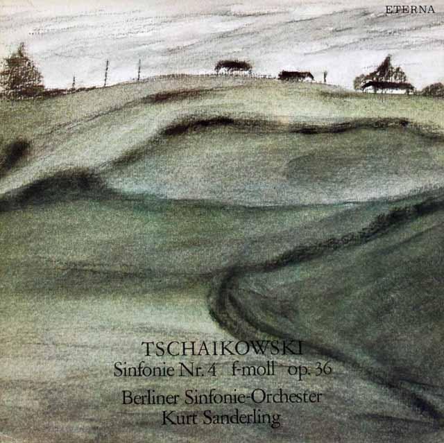 ザンデルリンクのチャイコフスキー/交響曲第4番    独ETERNA 2948 LP レコード
