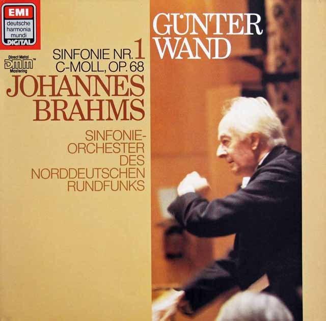 ヴァントのブラームス/交響曲第1番    独EMI 2948 LP レコード