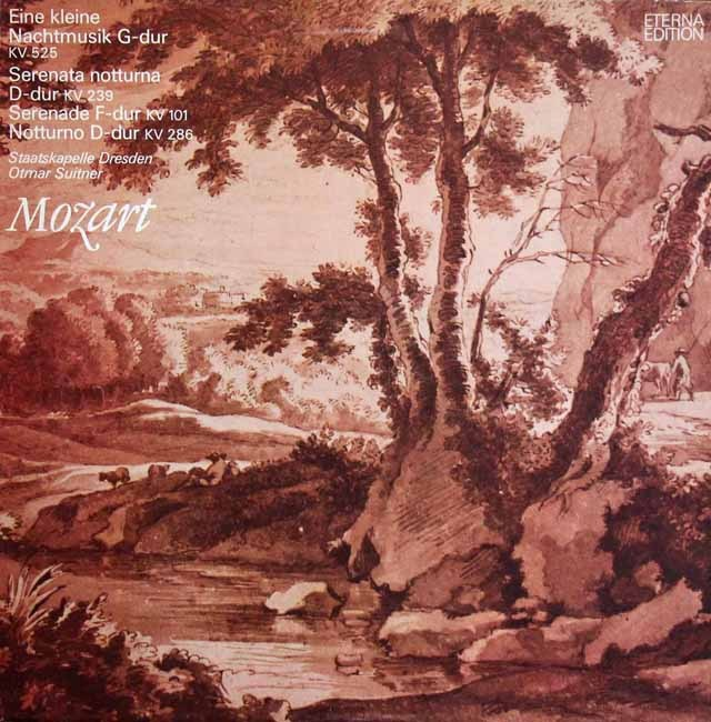 スウィトナーのモーツァルト/「アイネ・クライネ・ナハトムジーク」ほか 独ETERNA 3395 LP レコード
