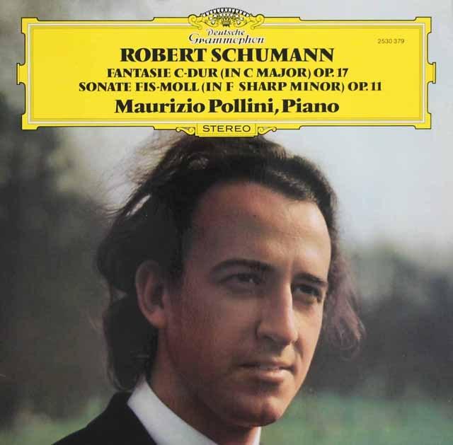 ポリーニのシューマン/ピアノソナタ第1番ほか    独DGG 2949 LP レコード