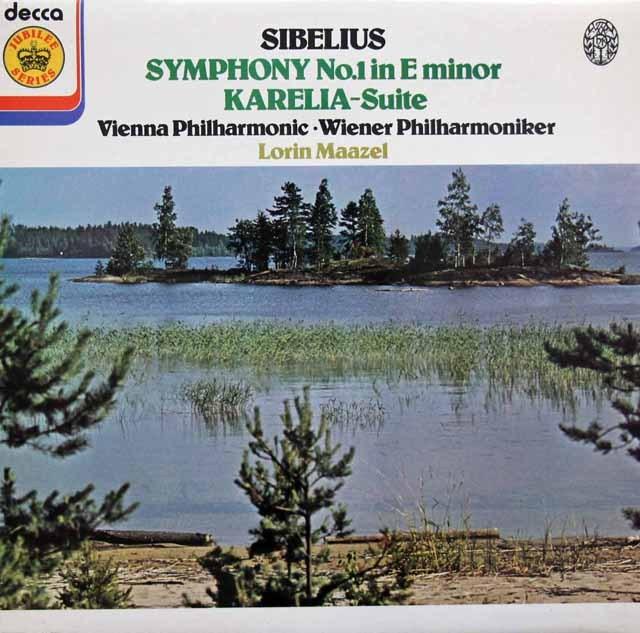 マゼールのシベリウス/交響曲第1番ほか 英DECCA 3395 LP レコード
