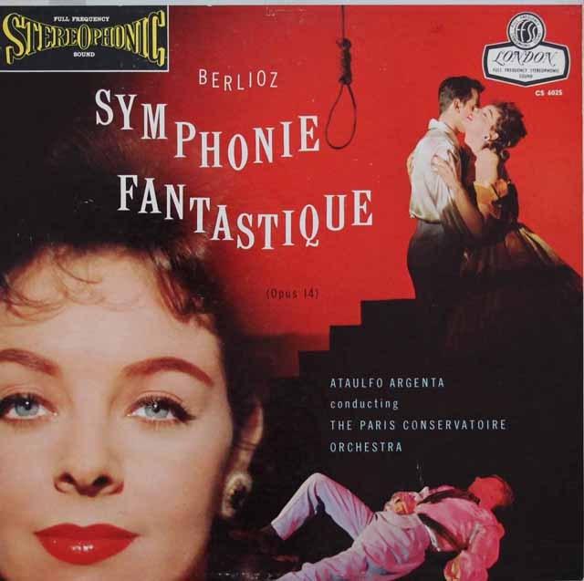 アルヘンタのベルリオーズ/幻想交響曲   英LONDON 2949 LP レコード