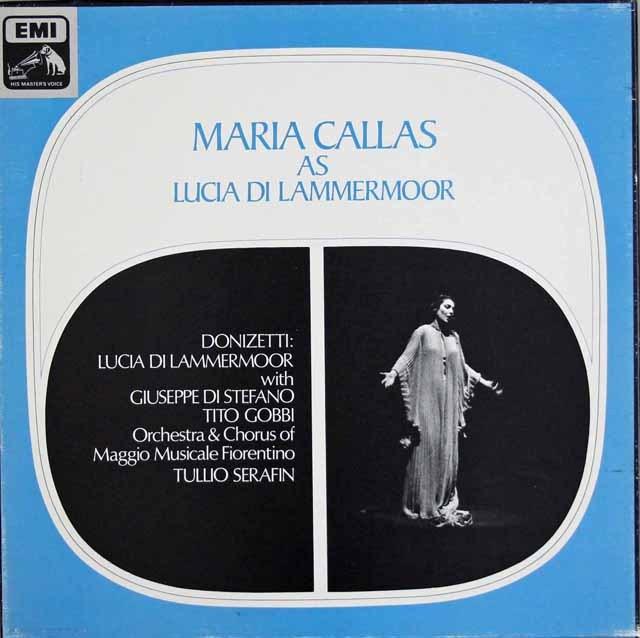 カラスのドニゼッティ/「ランメルモールのルチア」 英EMI 3395 LP レコード