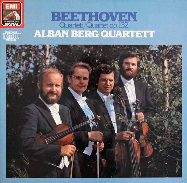 アルバン・ベルク四重奏団のベートーヴェン/弦楽四重奏曲第15番     独EMI 2950 LP レコード