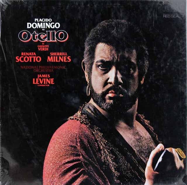 【未開封】ドミンゴ&レヴァインのヴェルディ/「オテロ」     独RCA 2950 LP レコード