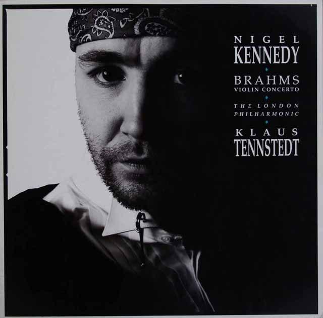 ケネディ&テンシュテットのブラームス/ヴァイオリン協奏曲  独EMI 2996 LP レコード