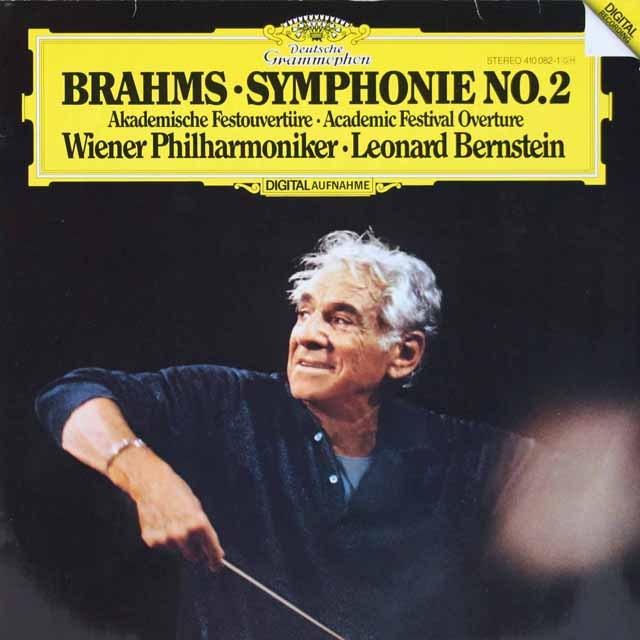 バーンスタインのブラームス/交響曲第2番  独DGG 2996 LP レコード