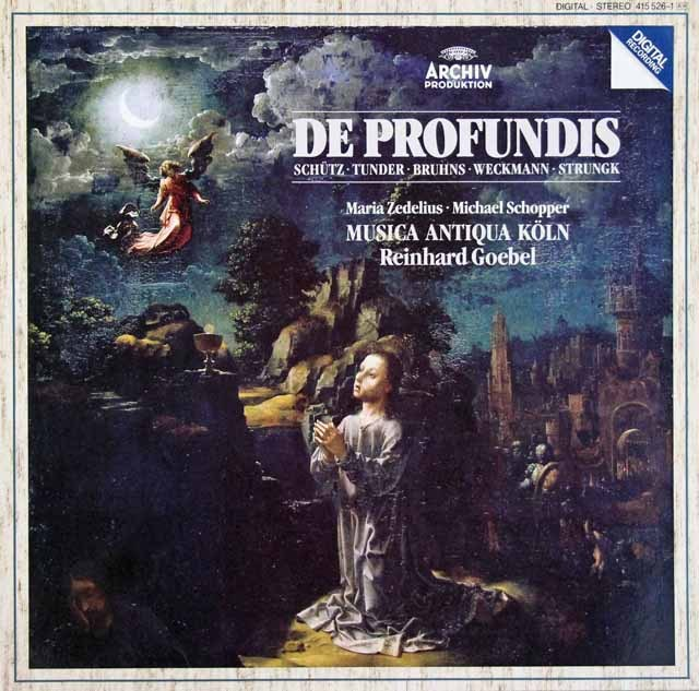 ムジカ・アンティクヮ・ケルンのドイツ・バロックのカンタータ集  独ARCHIV 2996 LP レコード
