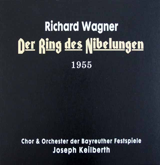 カイルベルトのワーグナー/「ニーベルングの指環」全曲  欧州Testament 2996 LP レコード