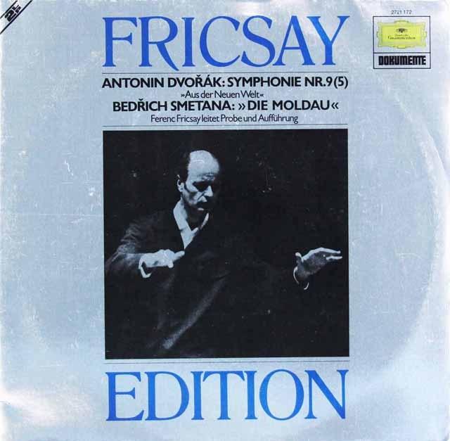 フリッチャイのドヴォルザーク/交響曲第9番「新世界より」ほか  独DGG 2997 LP レコード