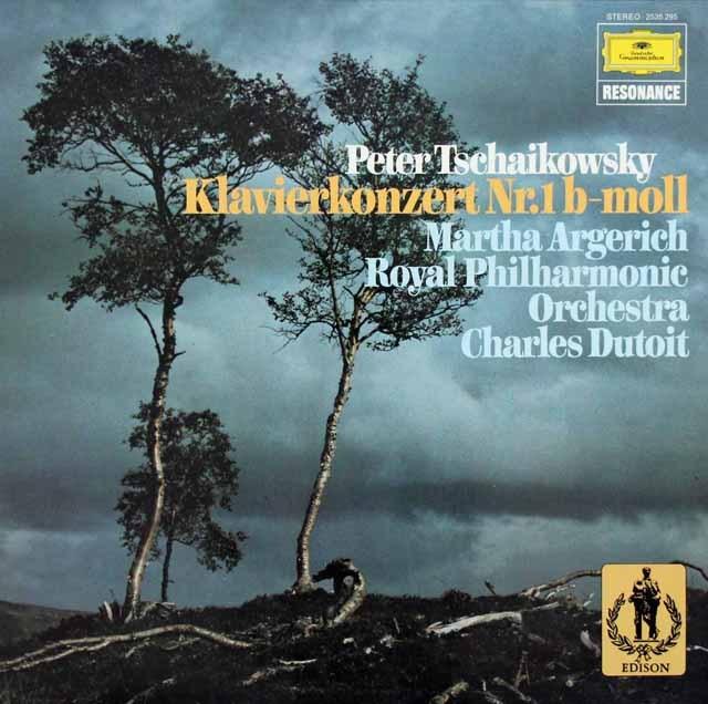 アルゲリッチ&デュトワのチャイコフスキー/ピアノ協奏曲第1番  独DGG 2997 LP レコード