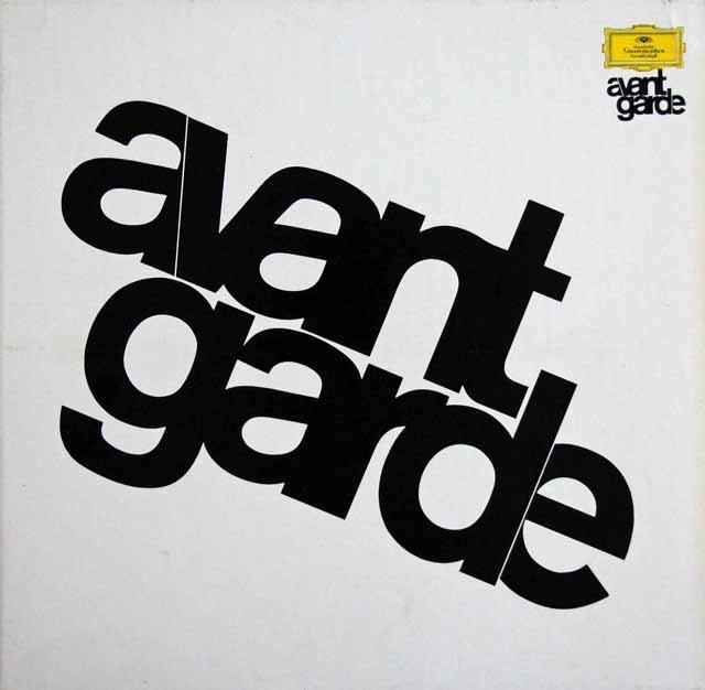 アヴァンギャルド・シリーズ vol.1 独DGG 2999 LP レコード