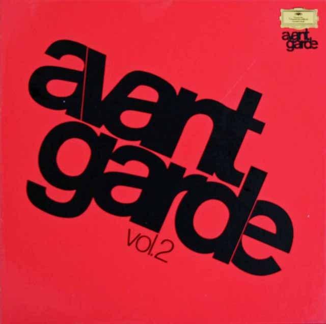 アヴァンギャルド・シリーズ vol.2 独DGG 2999 LP レコード