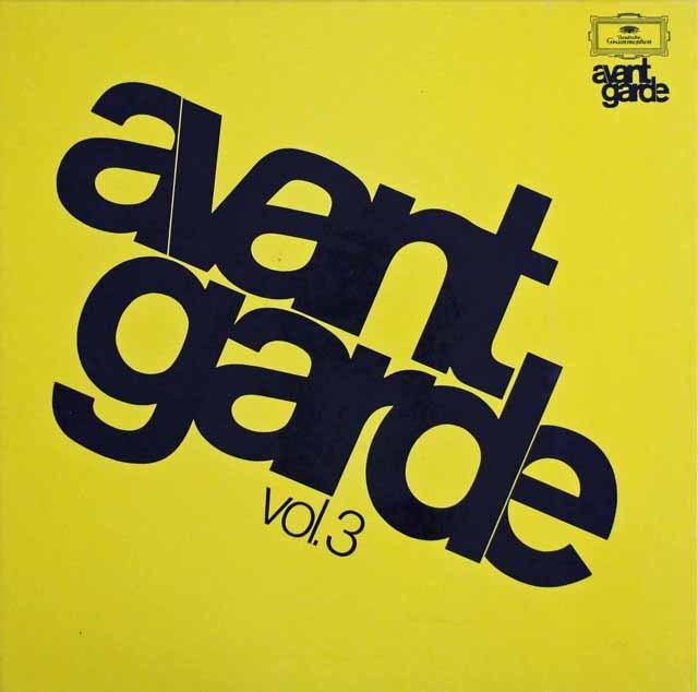 アヴァンギャルド・シリーズ vol.3 独DGG 2999 LP レコード