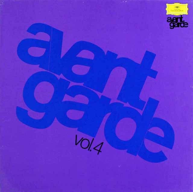 アヴァンギャルド・シリーズ vol.4 独DGG 2999 LP レコード