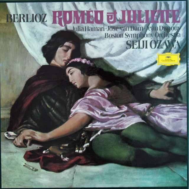 小澤のベルリオーズ/劇的交響曲「ロメオとジュリエット」   独DGG 3002 LP レコード
