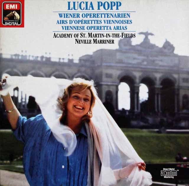 ポップ&マリナーのウィンナ・オペレッタ・アリア集   独EMI 3002 LP レコード