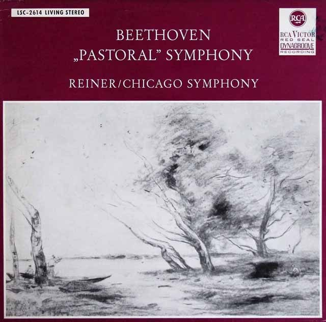 ライナーのベートーヴェン/交響曲第6番「田園」   独RCA 3002 LP レコード