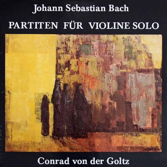 ゴルツのバッハ/無伴奏ヴァイオリンのためのパルティータ全曲  独AUROPHON 3003 LP レコード