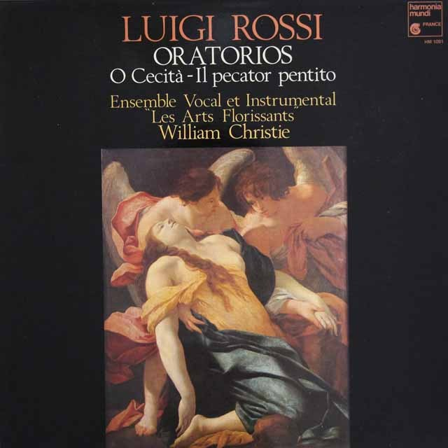 クリスティ&レザール・フロリサンのロッシ/オラトリオ集  仏HM 3004 LP レコード