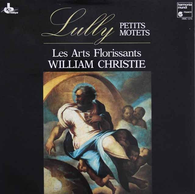 クリスティ&レザール・フロリサンのリュリ/モテット集  仏HM 3004 LP レコード