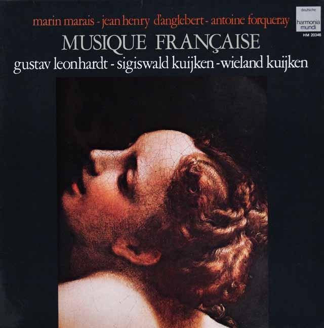 クイケン兄弟&レオンハルトのマレー、フォルクレら/フランス・バロック音楽  仏HM 3004 LP レコード