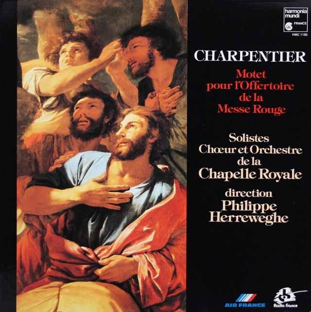 ヘレヴェッヘのシャルパンティエ/モテット集  仏HM 3004 LP レコード