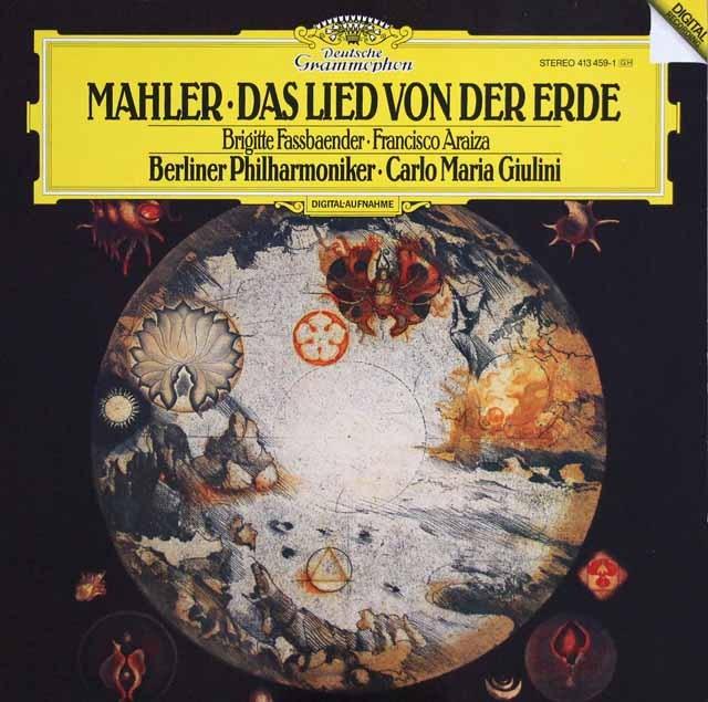 ジュリーニのマーラー/「大地の歌」  独DGG 3394 LP レコード