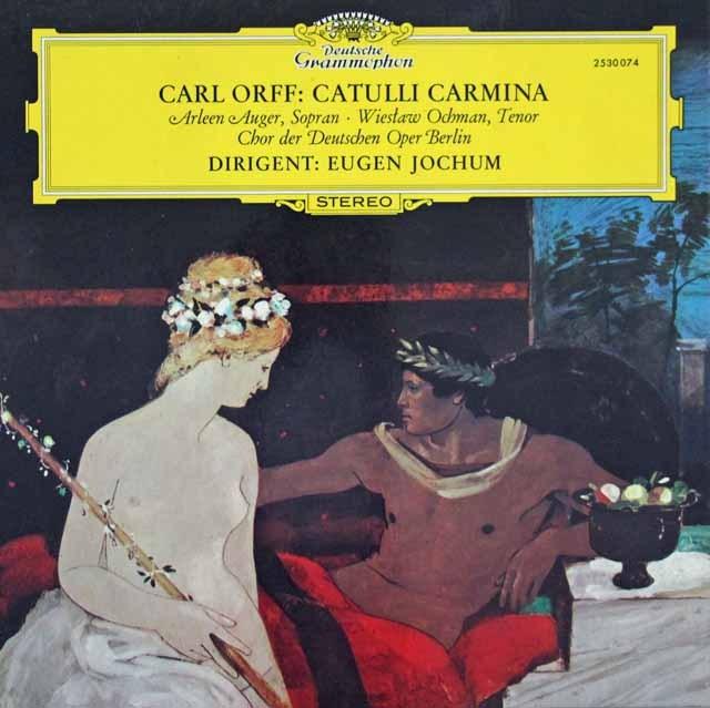 ヨッフムのオルフ/「カトゥーリ・カルミナ」  独DGG 3394 LP レコード