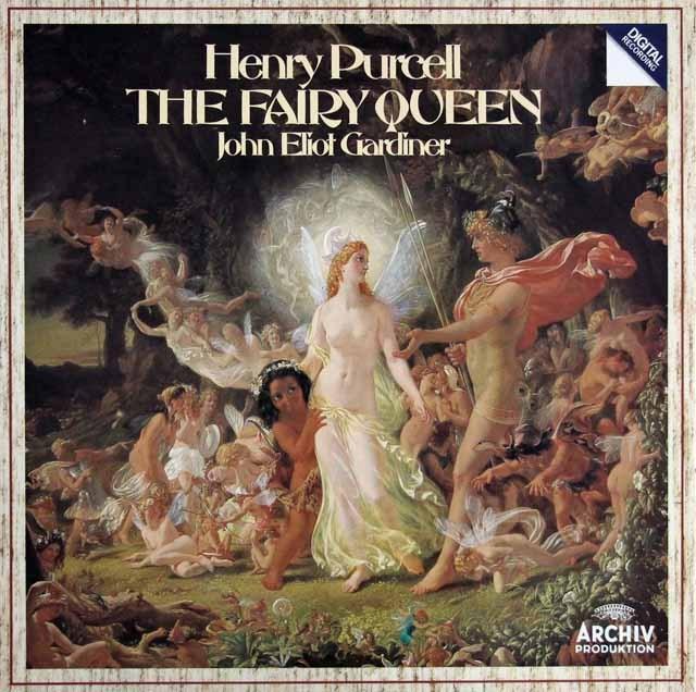 ガーディナーのパーセル/「妖精の女王」全曲 独ARCHIV 3394 LP レコード