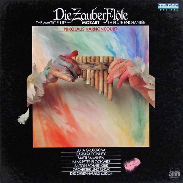 アーノンクールのモーツァルト/「魔笛」全曲  独TELDEC 3004 LP レコード