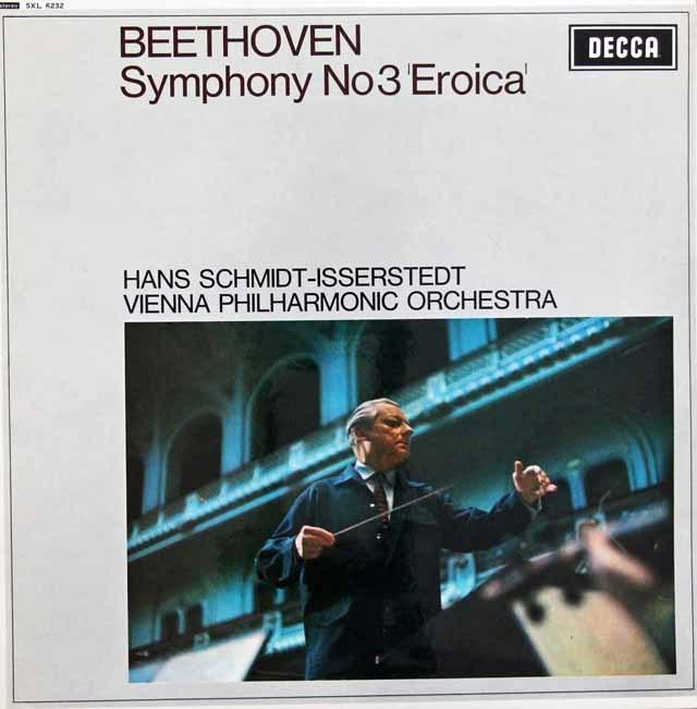 イッセルシュテットのベートーヴェン/交響曲第3番「英雄」  英DECCA 3006 LP レコード