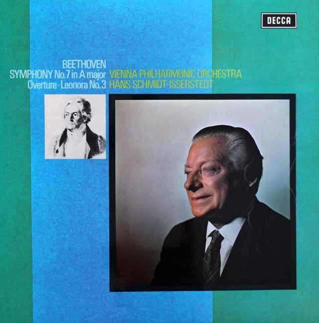 【オリジナル盤】イッセルシュテットのベートーヴェン/交響曲第7番  英DECCA 3006 LP レコード