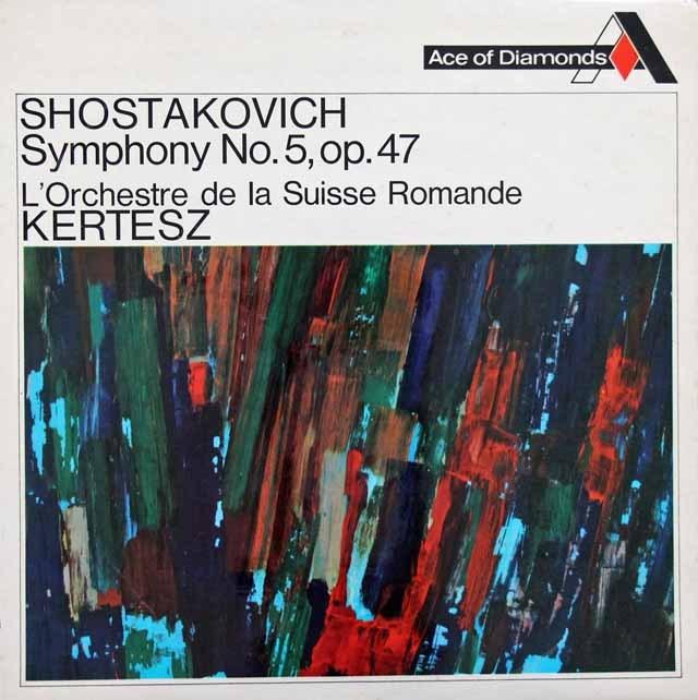 ケルテスのショスタコーヴィチ/交響曲第5番  英Ace of Diamonds 3393 LP レコード