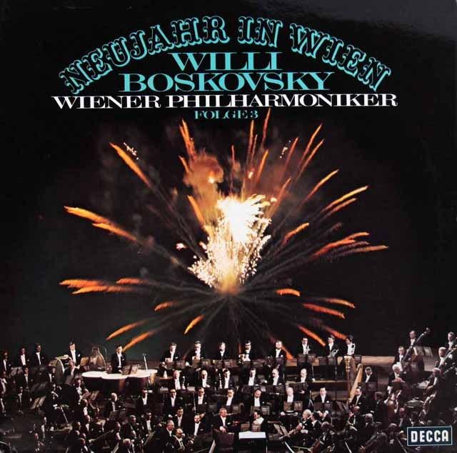 ボスコフスキーのニュー・イヤー・コンサート vol.3  独DECCA 3006 LP レコード
