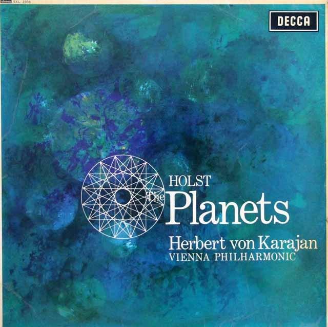 【オリジナル盤】カラヤンのホルスト/「惑星」  英DECCA 3007 LP レコード