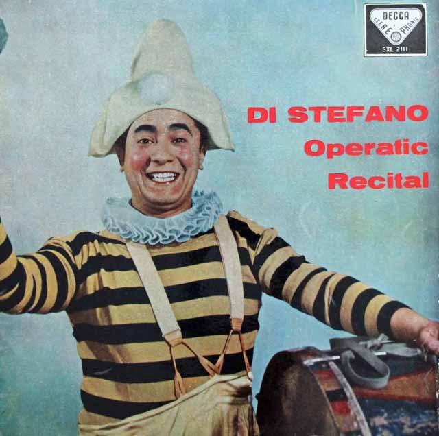 【オリジナル盤】 ステファノのオペラ・アリア集  英DECCA 3393 LP レコード
