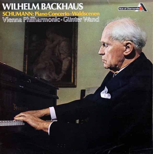 バックハウス&ヴァントのシューマン/ピアノ協奏曲ほか  英DECCA 3007 LP レコード